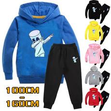 Boy, hooded, Winter, pants
