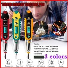 pencil, Electric, tester, Battery