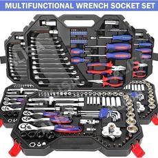 Steel, ratchetstoolbox, Cars, Tool