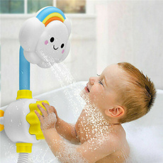 Shower, Bathroom, Toy, rainbow