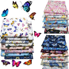 butterfly, decoration, Cotton fabric, Fashion