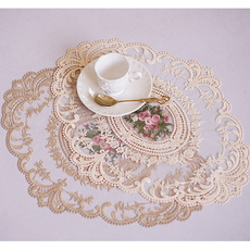 shootingprop, tablemat, embroiderylace, Lace