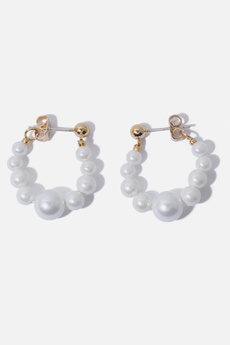 pearls, trendsi, Hoop, Stud