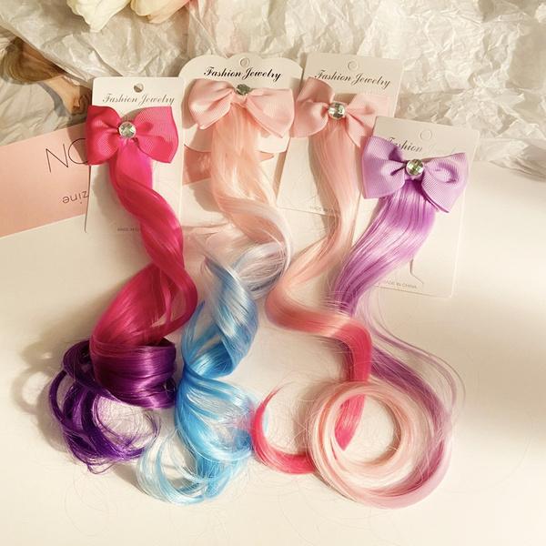wig, cute, hairornament, Colorful