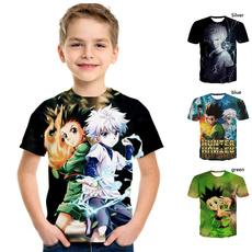 kids, Summer, Funny T Shirt, Necks