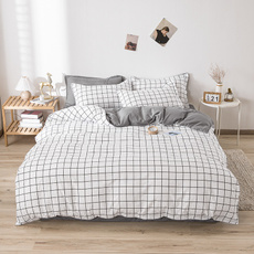 King, plaid, bedclothe, Bedding