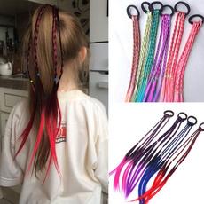 wig, Rope, Braids, Elastic