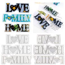 lettersmold, Home & Kitchen, Decor, lovelettersmold