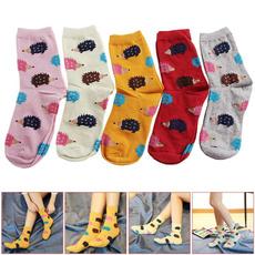 Winter, Soft, Socks, Casual