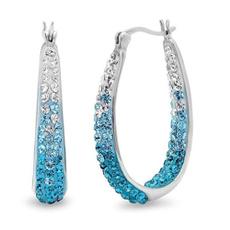 Cubic Zirconia, Hoop Earring, Jewelry, Elegant