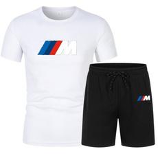 Summer, twopiecesportswear, Shorts, tshirtset