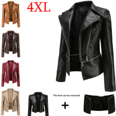 motorcyclejacket, Shorts, Long Sleeve, Coat