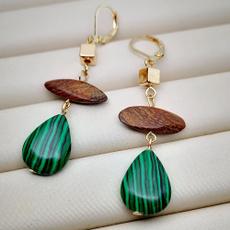 Antique, Jewelry, gold, wedding earrings