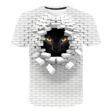 Summer, Fashion, printed, Shirt