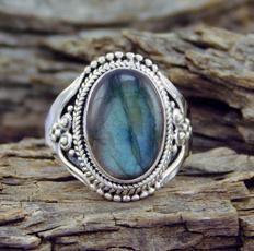 Sterling, rainbow, 925 sterling silver, wedding ring