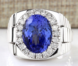 Sterling, gemstone jewelry, Fashion, wedding ring