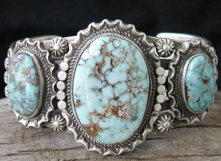 Sterling, Vintage, Turquoise, 925 sterling silver
