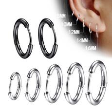 Steel, Earring Cuff, Hoop Earring, Jewelry
