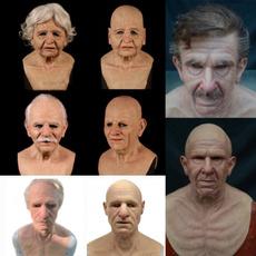 wig, scary, oldmanmask, Cosplay