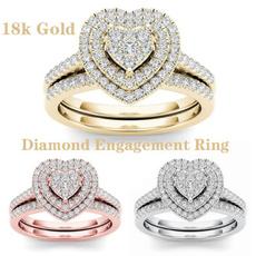 ladieshandaccessorie, Heart, wedding ring, gold