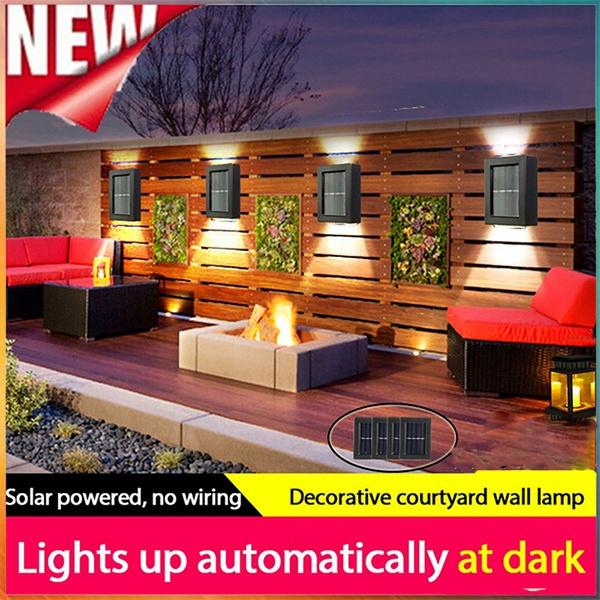 Decorative, walllight, Outdoor, solargardenlight