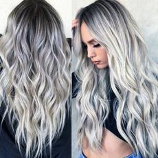 gradientcolor, wig, ladieswig, bigwave