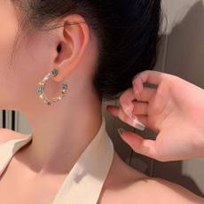 DIAMOND, korean style, Rhinestone, Ear Cuff