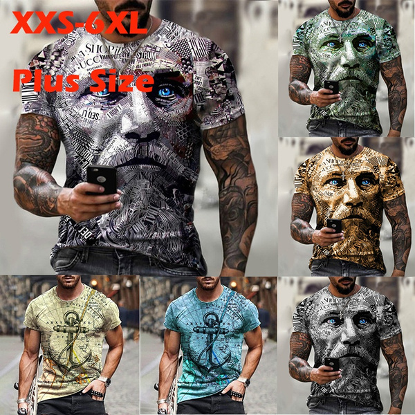 Mens T Shirt, Short Sleeve T-Shirt, Sleeve, Summer