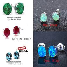 Sterling, opalearring, Wedding Accessories, Stud Earring
