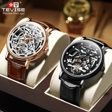 Men Business Watch, Casual Watches, Luxury, skeletonwatch