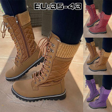 Knee High Boots, midcalfboot, Invierno, Encaje