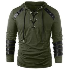Goth, hooded, scottishshirt, Shirt