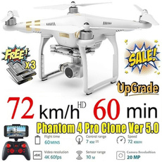 Quadcopter, Remote, Battery, Photography
