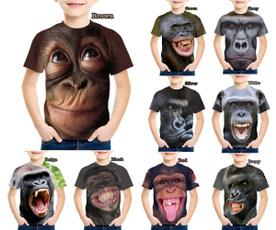 Fashion, monkey, tshirtsforboy, unisex