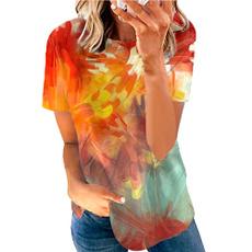 tshirt3d, Plus Size, Colorful, Summer