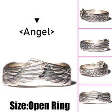 Jewelry, Angel, creative gifts, punk