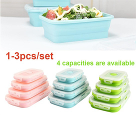 Box, Foldable, Container, Silicone