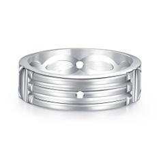 Steel, ringsformen, Fashion Accessory, atlantisring