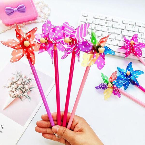 windmill, ballpoint pen, School, Gifts