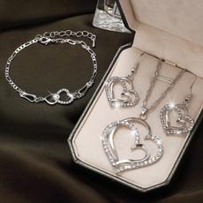 Heart, sapphirenecklacecrystalnecklace, gemstonenecklace, Classics