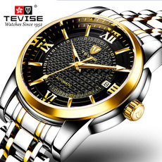 Men Business Watch, Casual Watches, christmasgiftformanwatch, stainlesssteelstrapwatch