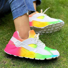 rainbow, Sneakers, Fashion, Sports & Outdoors