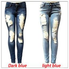Women Pants, Blues, trousers, Waist