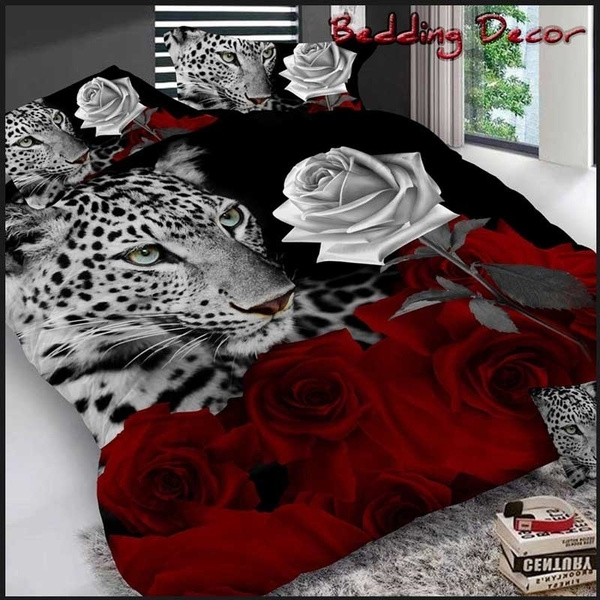 King, Cover, Bedding, Leopard