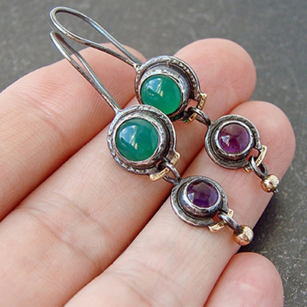 Sterling, Fashion, 925 sterling silver, vintage earrings