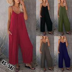 night dress, Plus Size, camisole, longjumpsuit