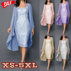 party, Plus Size, Lace, Sleeve