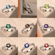 Fashion, wedding ring, sterling silver, DIAMOND