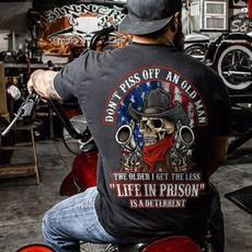 Fashion, Shirt, skull, Men