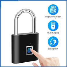 smartlock, padlocklock, doorlock, fingerprintlock